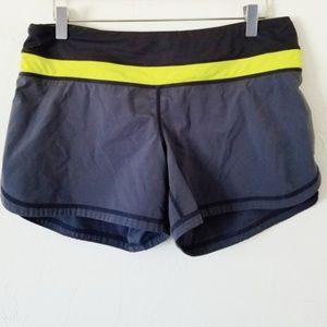 Lulu Lemon Gray Athletic Shorts